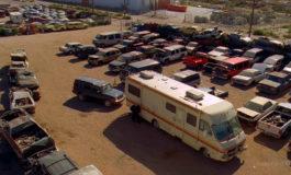 Закат – фото момента из 6 серии 3 сезона сериала Во все тяжкие